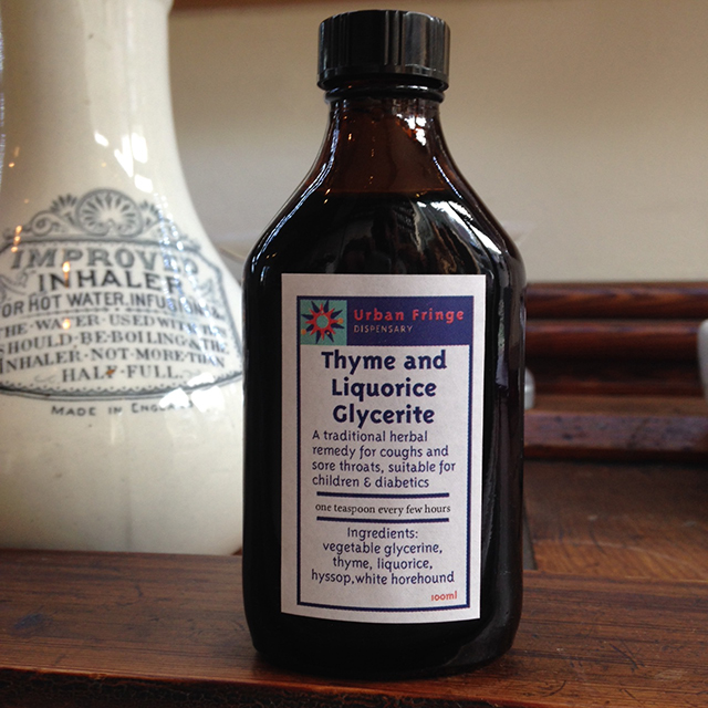 Thyme and Liquorice Glycerite