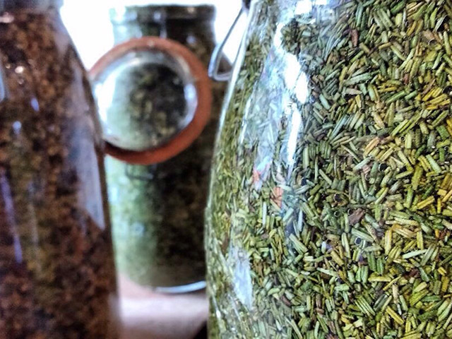 tincture jars