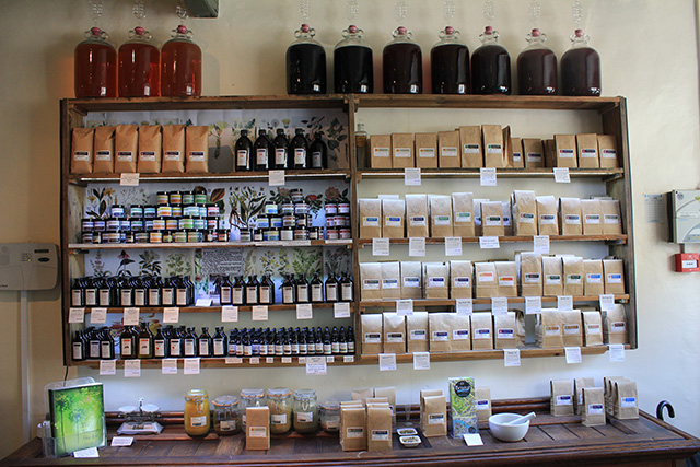 main shelves